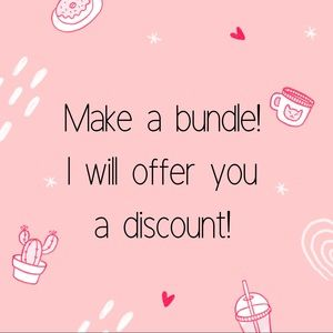 Bundles receive offers!
